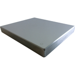 Brinell Hardness test blocks with UKAS-Certificate (150x125mm)